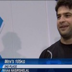 نواب نصیرشلال مدال نقره المپیک را گرفت