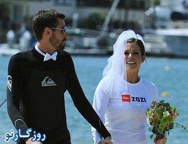 عروس و داماد پرنده