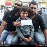 جمع آوری کمک های مردمی بازیگران برای زلزله زدگان+تصاویر