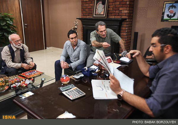 عکسهای فیلم آقای الف اولین فیلم سه بعدی ایرانی