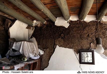 آثار زلزله اهر