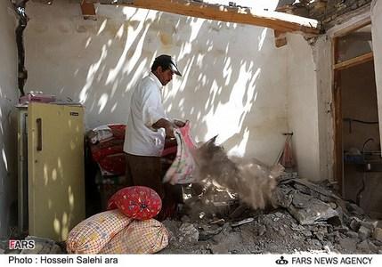 آسیب دیدگان زلزله