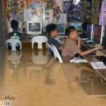 اعتیاد به بازی رایانه ای تا این حد؟!(عکس)