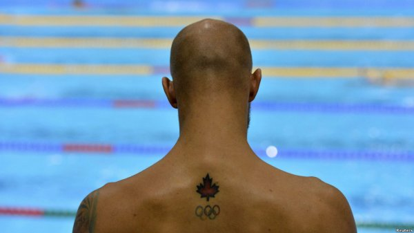 مدل خالکوبی پشت گردن خالکوبی های جالب بر بدن ورزشکاران المپیک