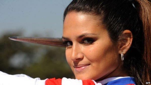 زن المپیکی
