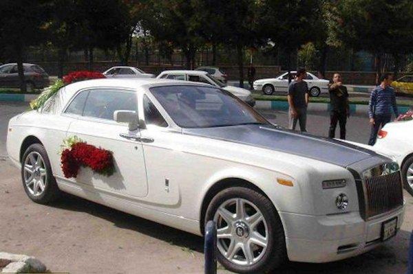 ماشین عروس در اصفهان / رولز رویس فانتوم