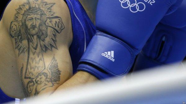 خالکوبی های ورزشکاران در المپیک لندن - عکس های دیدنی
