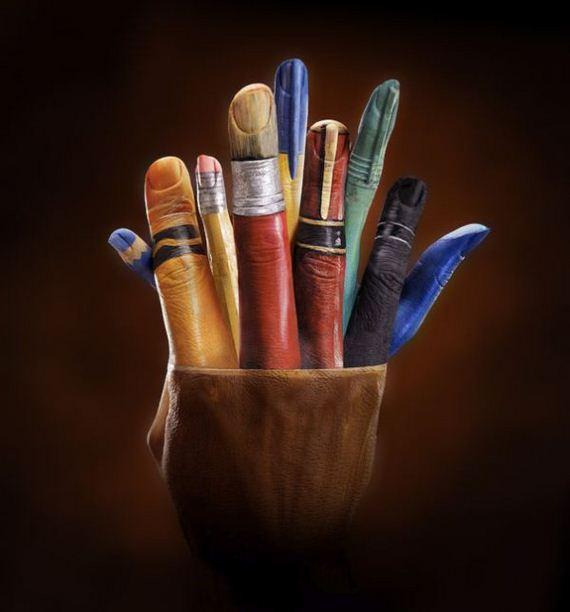 هنرنمایی با دست