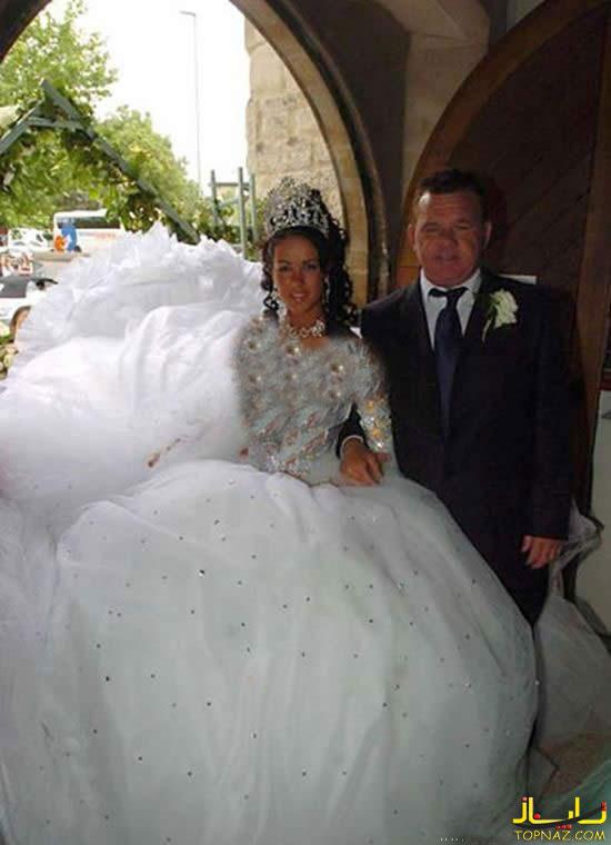 عجیب ترین لباس عروس های جهان 1