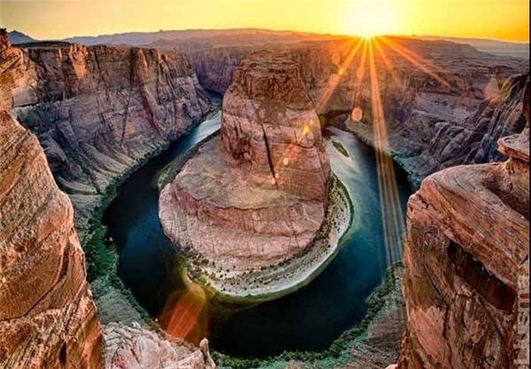 دره آریزونا در آمریکا