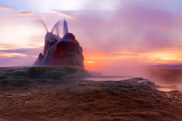 نوادا , صخرای بک ران