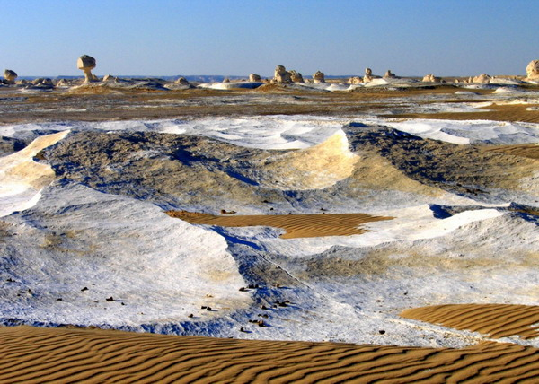 صحرای سفید , مصر