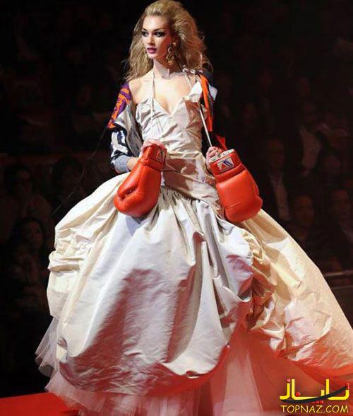 لباس عروس بوکس