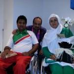 جشن نامزدی دو ملی پوش در پارالمپیک /عکس