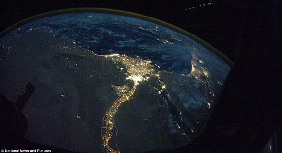 تصویر ناسا از قاهره