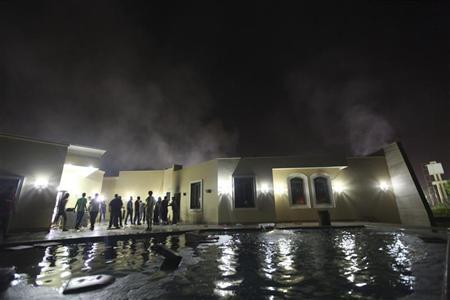 مرگ سفیر لیبی