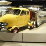 اولین ماشین پرنده ای که 60 سال پیش ساخته شد+عکس
