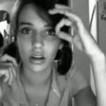 دختری که با صورتش حرکات جالبی انجام میده+کلیپ