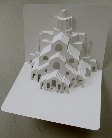 3D Paper Business Card