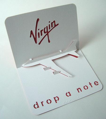 Virgin Business Card