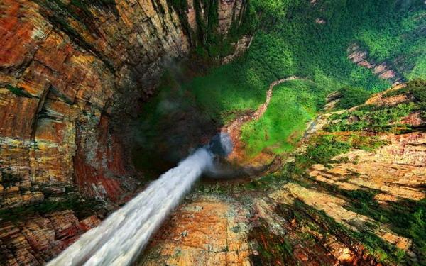 آبشار دراگون , ونزوئلا