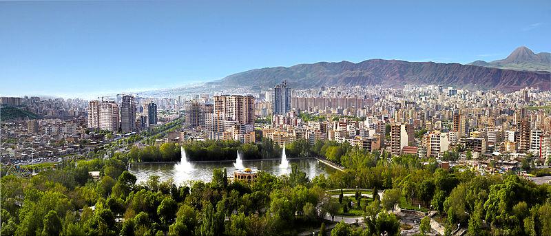 عکس پانوراما از تبریز