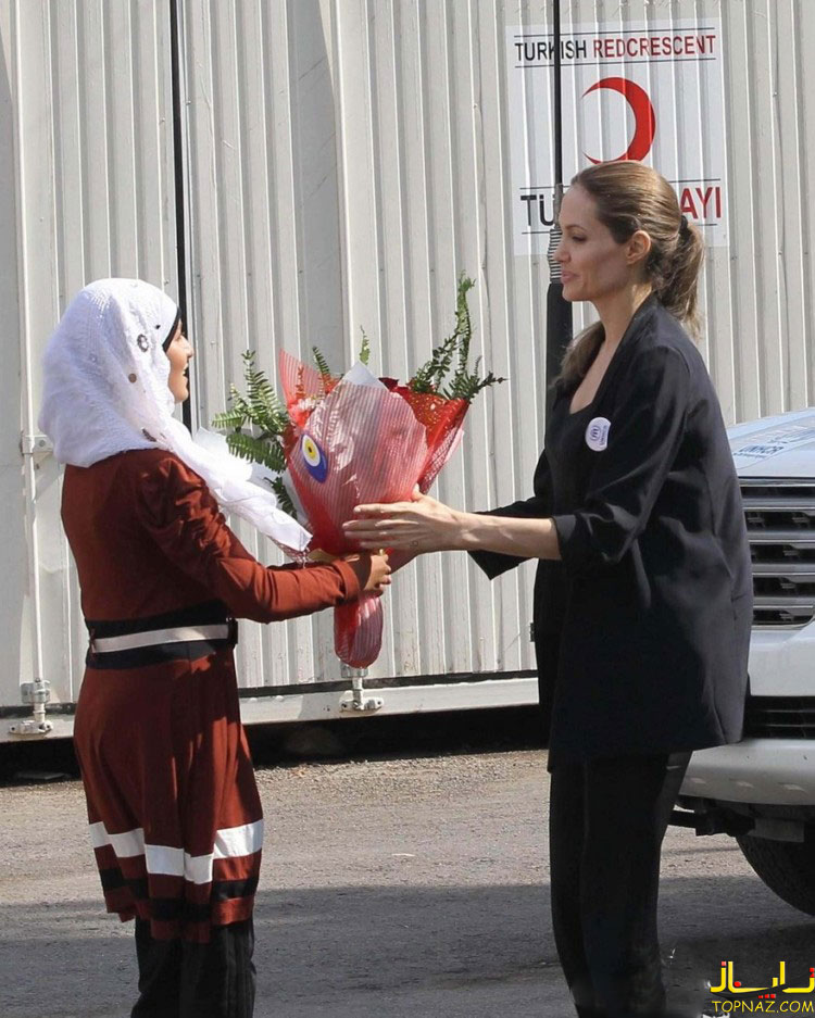 آنجلینا جولی در ترکیه