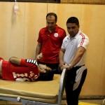 مسمومیت بازیکنان پرسپولیس در بازی با سپاهان+عکس