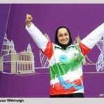 ساره جوانمردی اولین مدال پارالمپیک را گرفت