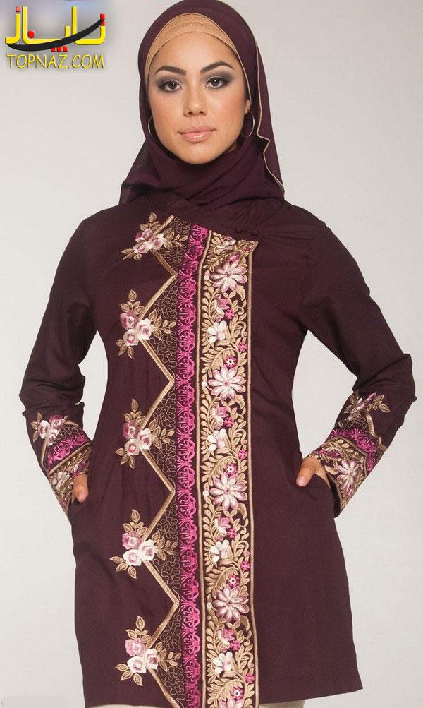 مدل تونیک اسلامی دختران جوان