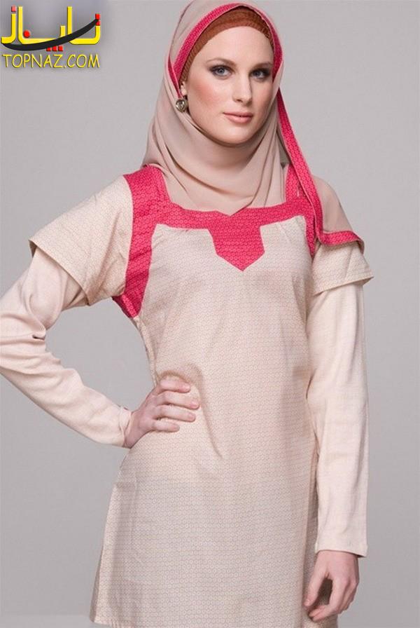 مدل تونیک و روسری اسلامی