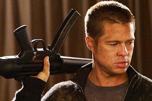 اسلحه براد پیت