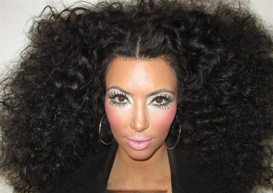 مدل موی کیم کارداشیان