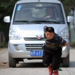 قدرت عجیب پسر 7 ساله چینی+تصاویر