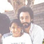 عکس ابی خواننده و دخترش عسل
