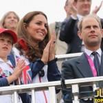 عکسهای کیت میدلتون در پارالمپیک لندن