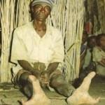 افراد این قبیله پاهایی شبیه به شترمرغ دارند+عکس