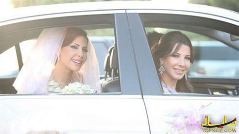 نانسی عجرم و خواهرش,عروسی,خواهر نانسی