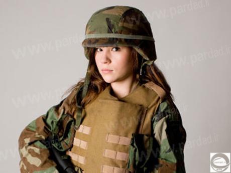 سرباز زن