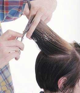 آموزش کوتاهی مو به صورت چتری