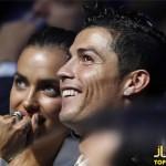 کریس رونالدو و نامزدش در یک مراسم ورزشی+عکس