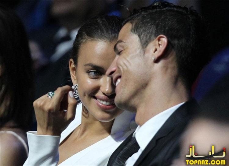 کریستین رونالدو و دوست دخترش