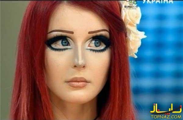 دختر خوشکل,دختر زیبا,دختر عروسکی,دختر کارتونی
