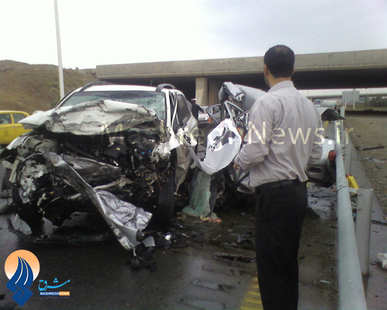 عکس تصادف فرودگاه