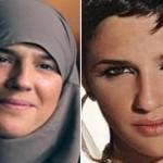 خواننده معروف رپ با حجاب شد+عکس