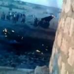 جنگنده میگ سوریه به دست مخالفان منهدم شد +عکس