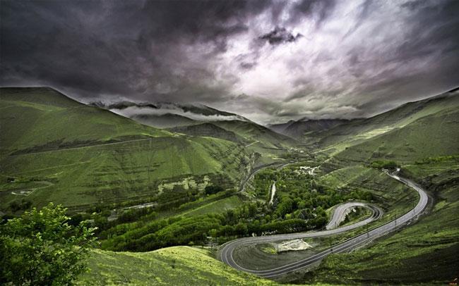 جاده زیبا
