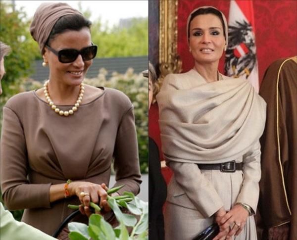 عکس هایی از همسر شیک پوش ایرانی امیر قطر +بیوگرافی