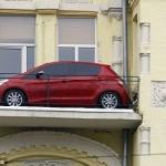 عجیب ترین مکان برای پارک ماشین +تصاویر