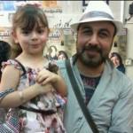 عکسی از رضا عطاران و دخترش